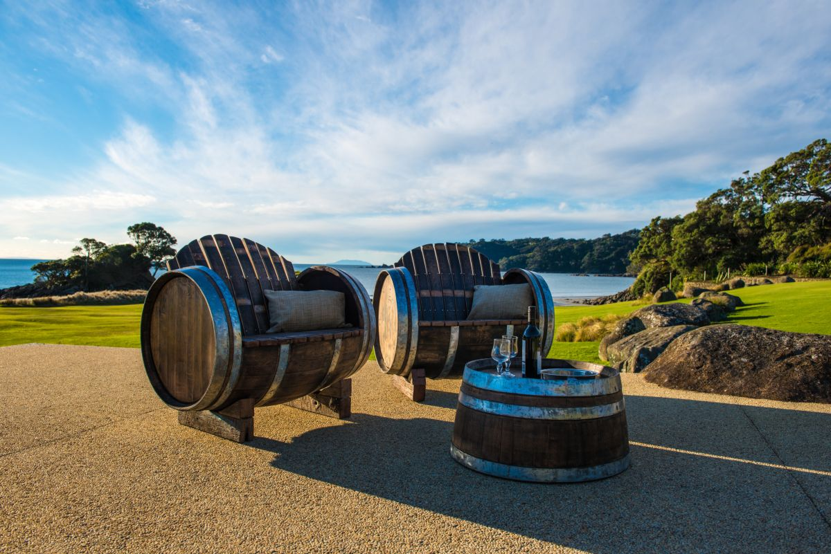 Wine Barrel Furniture - The Lost Barrel, by Aaron Carpenter, photogarphy by Peter Rees